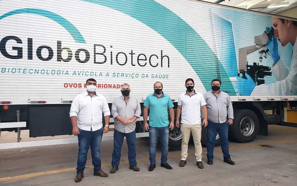 Globobiotech entrega primeira carga de embriões da campanha 2021