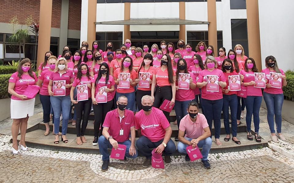 A Globoaves apoia o Cascavel Rosa em sua campanha anual